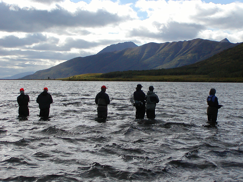 Alaska  fly-out fishing