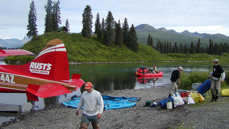ALASKA FLY-OUT RAFTING, KAYAKING and BACK COUNTRY HIKING